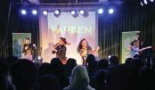 German band Erfindenker performs at Goethe-Institut