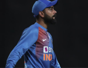 Virat Kohli reprimanded by ICC for inappropriate physical contact