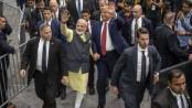 Trump praises Modi at 'historic' Texas rally