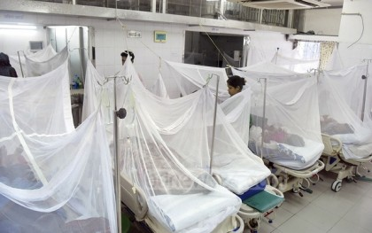 2,018 dengue patients undergoing treatment in country
