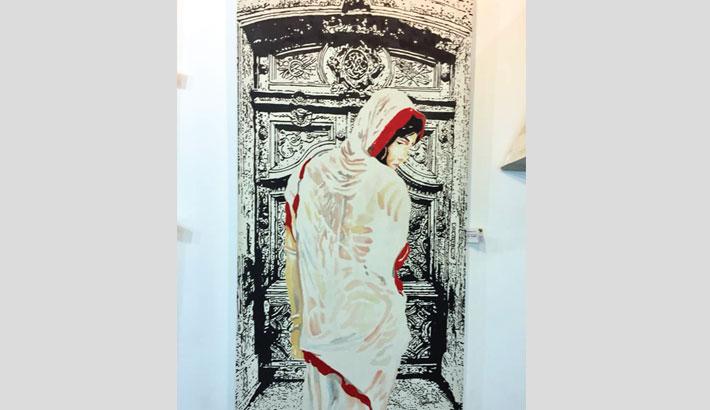 Solo painting exhibition 'Open Door' at Radius Gallery