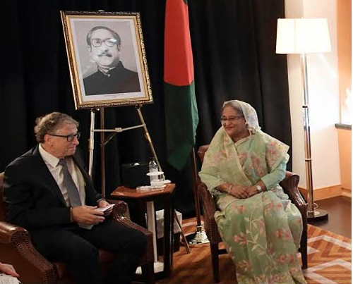 Bill & Melinda Gates Foundation to help Bangladesh's vaccination programme