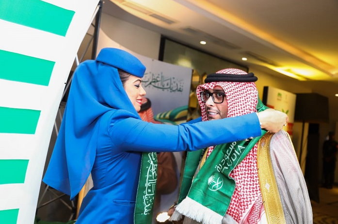 Saudi Arabian Airlines sponsors 89th Saudi National Day celebration in Bangladesh