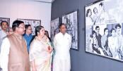 Month-long exhibition 'Sheikh Hasina Bangladesh-er Swapna Sarathi' at BSA