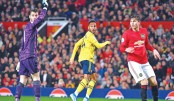 Arsenal snatch draw at Old Trafford