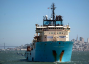 'Ocean Cleanup' ship sweeps first Pacific plastic