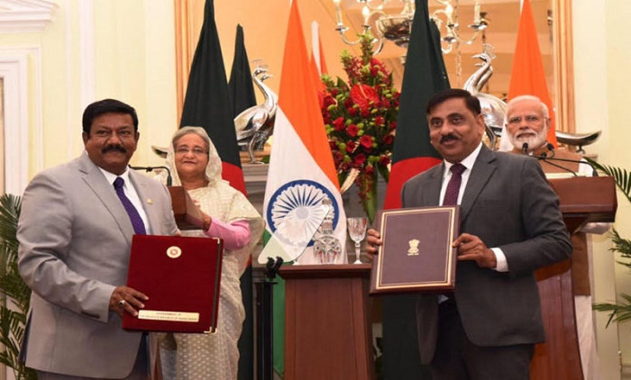 India allowed to withdraw Feni river water from Bangladesh