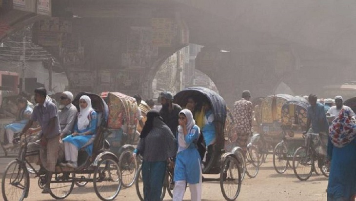 Dhaka again ranks worst in Air Quality Index