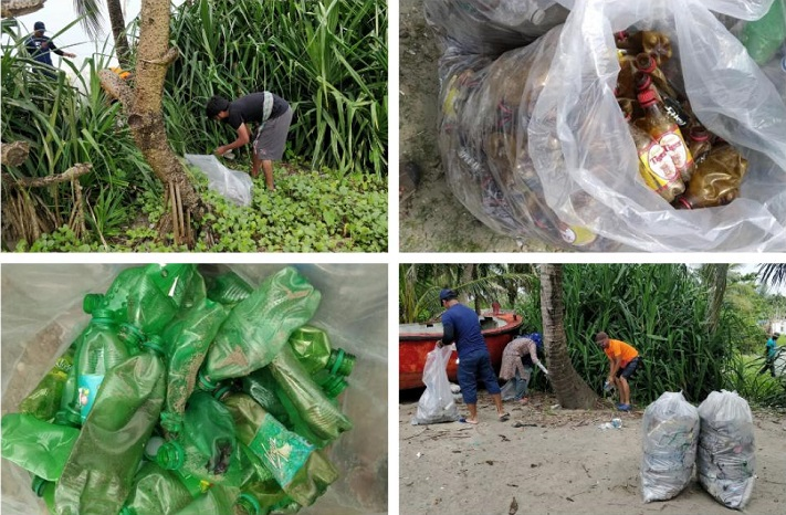 39 tourists clear off 555 Kgs of plastic wastes from Saint Martin's