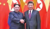Jinping, Kim hail 'immortal' China-N Korea ties