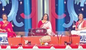 'Ronger Khelay Shurer Bhelay Pujar Melay'