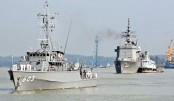 Japanese maritime ships in Ctg on goodwill visit