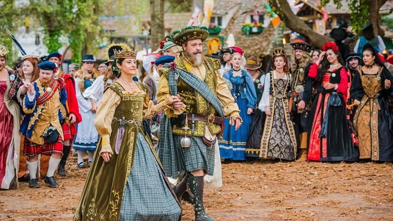 Annual Renaissance festival opens in Texas, U.S.