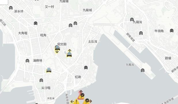 Apple approves Hong Kong protest location app