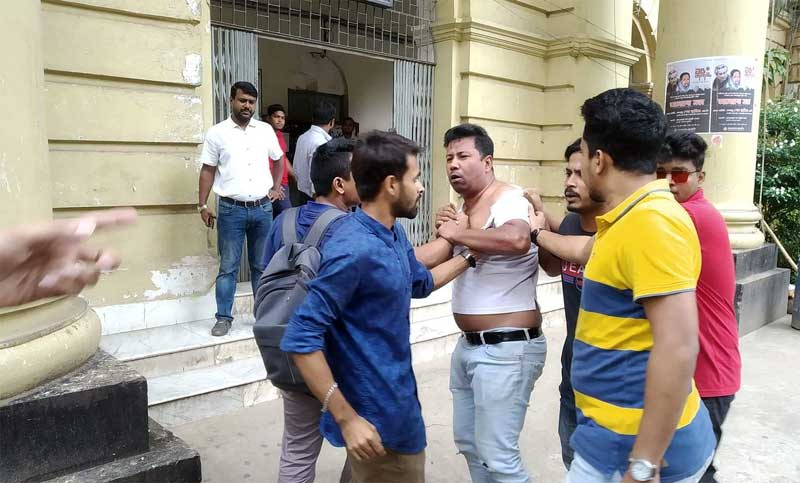 Abrar killing: 6 hurt as BCL men attack protesting JCD supporters at JnU