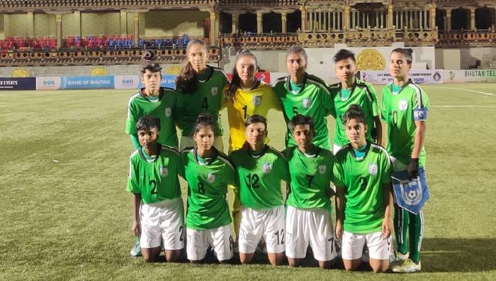 Winning start for Bangladesh in SAFF U-15 Women's Championship