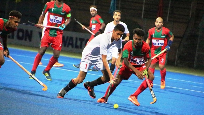 U-21 Hockey: Bangladesh play out  2-2 draw against Oman