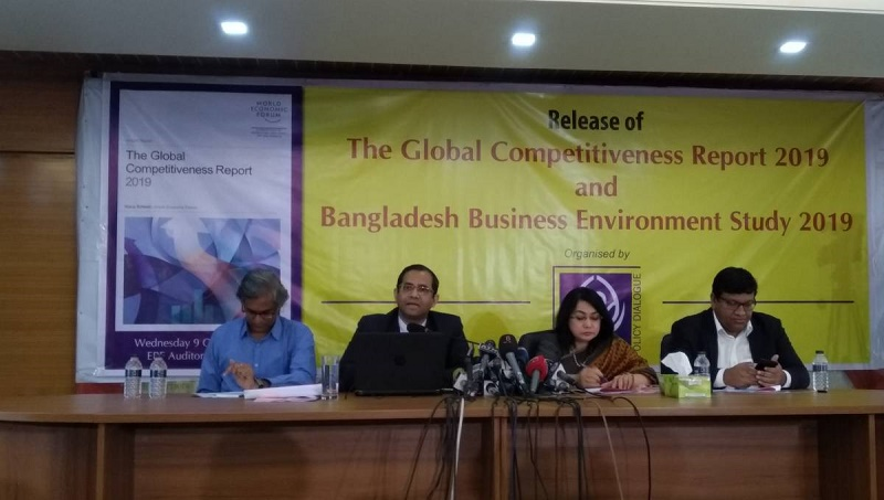 Bangladesh slips 2 positions in Global Competitiveness Index