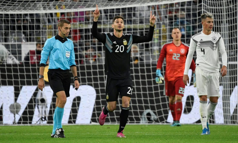 Argentina coach hails 'positives' despite Messi absence in Germany draw