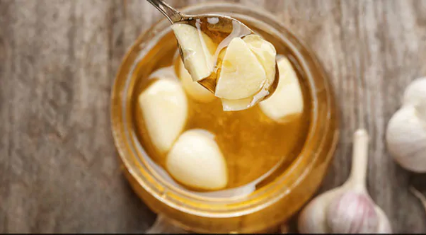 Raw Garlic and Honey for weight loss