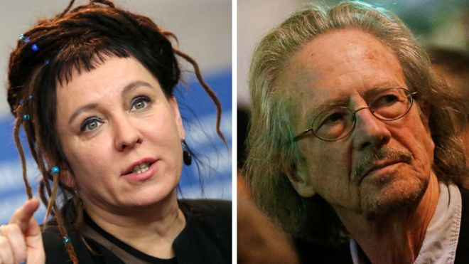 Olga Tokarczuk and Peter Handke win Nobel prizes in literature