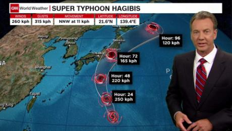 How Typhoon Hagibis may affect Japan travel