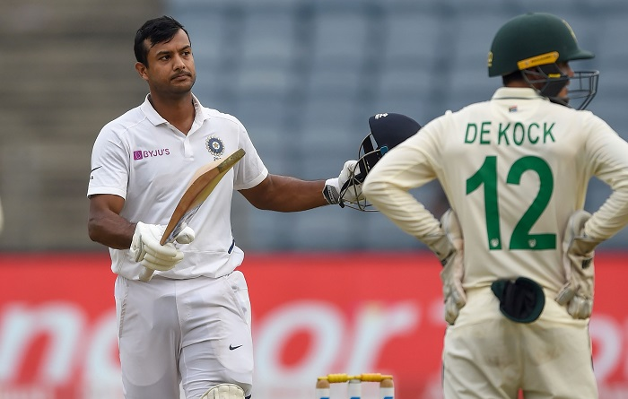Mayank Agarwal ton leaves South Africa on edge in second Test