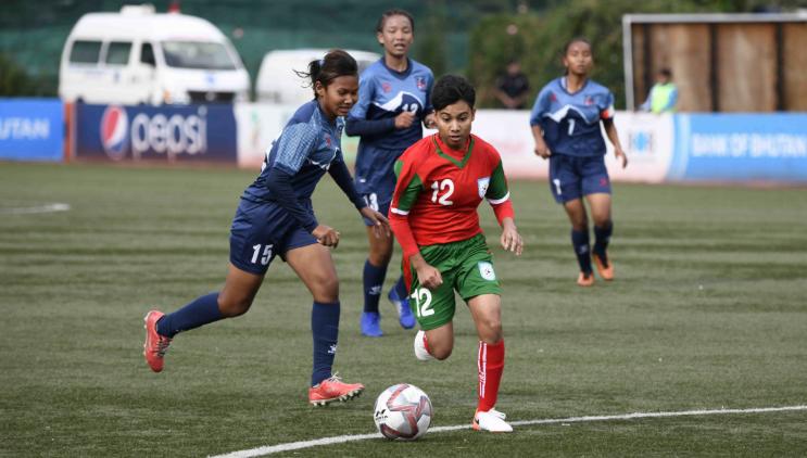 SAFF U-15 Women's: Bangladesh beat Nepal 2-1