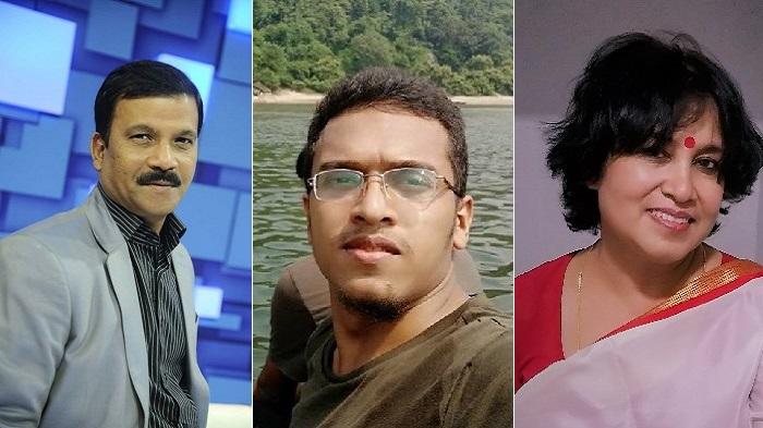 Asif Nazrul slams Taslima for comparing Abrar to Shibir activist