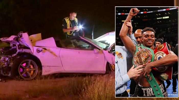 Boxer Errol Spence seriously injured in Dallas Ferrari crash