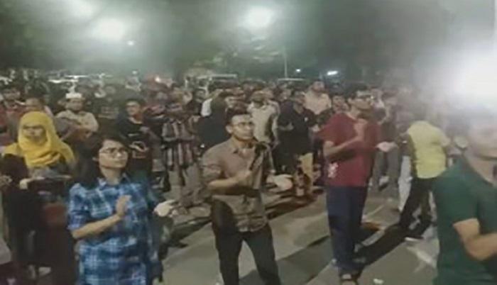 Movement will continue until demands not met