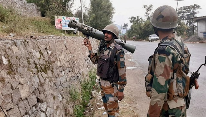 Top Indian Army officials to hold talks on Kashmir situation