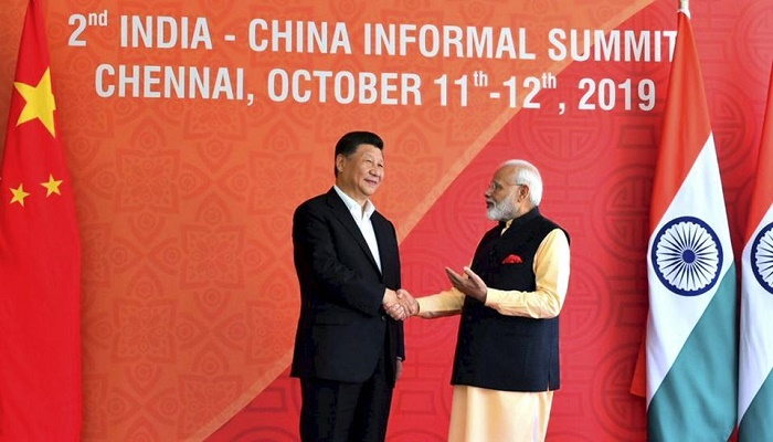 Indian PM Modi, Chinese President Xi hold talks on Day 2 of Mahabalipuram Summit in India