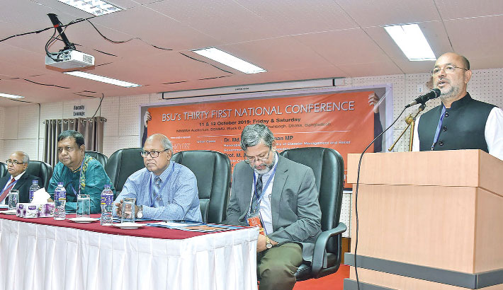 31st national conference at BSMMU