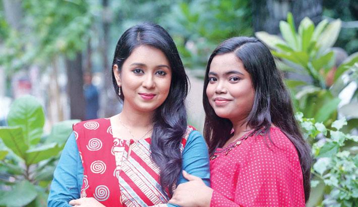 Rongon debuts acting with Farhana Mili