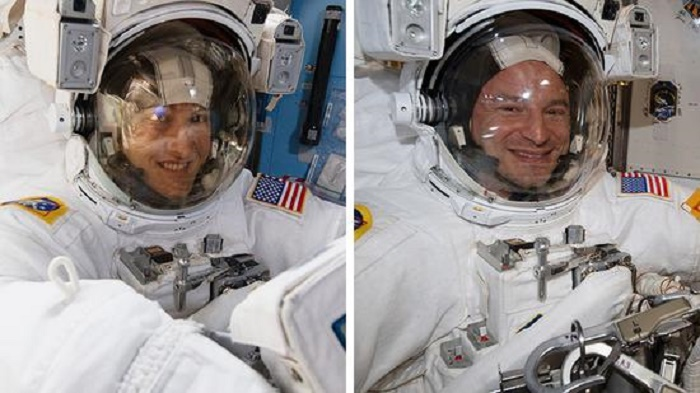 Two NASA astronauts complete nearly 7-hour spacewalk