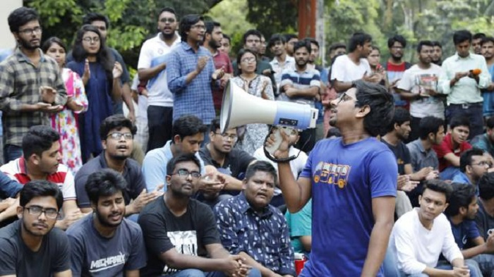 Protests resume on Buet campus, Students place 5-point demand