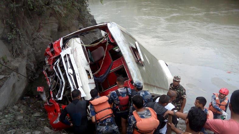 11 dead, 108 injured in Nepal bus crash