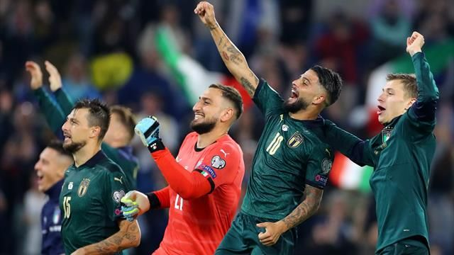 Italy beat Greece to qualify for Euro 2020
