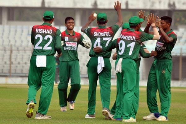 Bangladesh U-19s beat New Zealand by 73-run to clinch ODI series 4-1