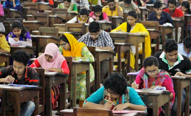 23.72 per cent pass admission test for DU Kha unit