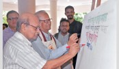 Art camp on Bangabandhu begins at Shilpakala Academy