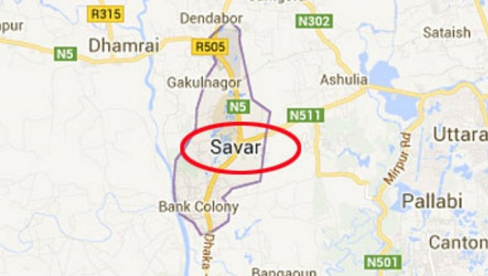 Robbers loot 2 flats in Savar