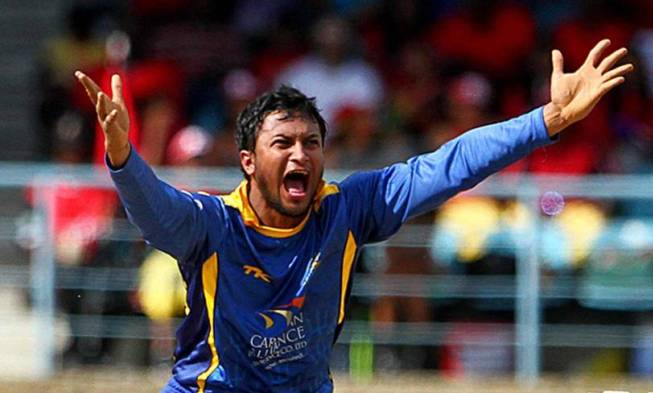 Shakib's Barbados Tridents win 2nd CPL title