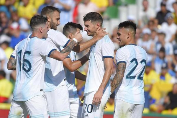 Argentina hit Ecuador for six in friendly