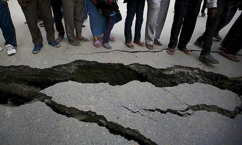 5.8-magnitude earthquake jolts parts Pakistan