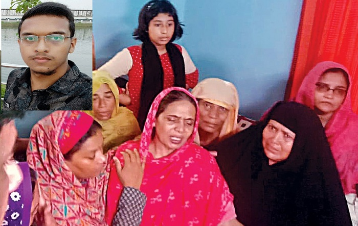 Abrar's family at Ganabhaban to meet Prime Minister