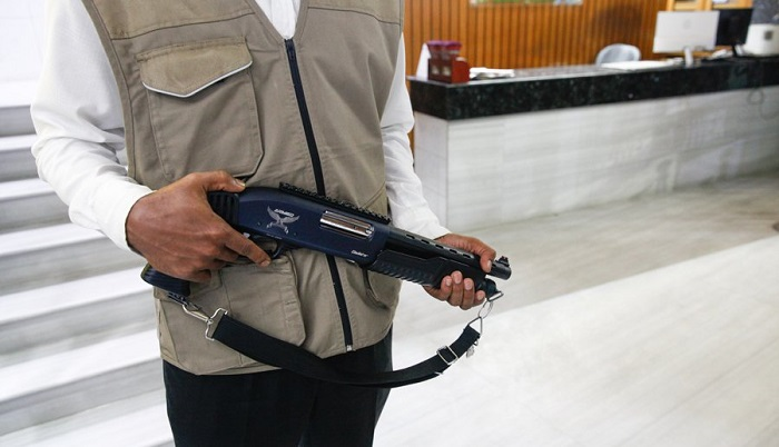 Firearm licence holders can't work as guards: Ministry