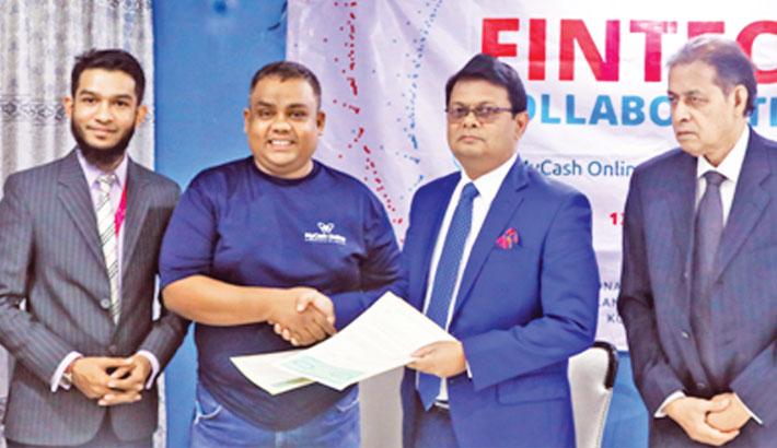 Premier Bank, MyCash Online ink deal