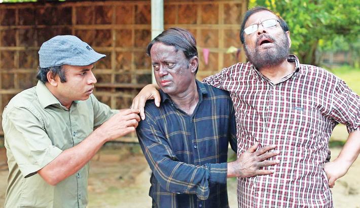 Aa Kha Ma Hasan, Nithor star in Kalo Jamai